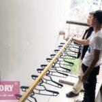 Vinadry GP191 RẺ mà CHẤT lắp tại nhà anh Mạnh, chung cư Goldsilk Complex, Hà Đông