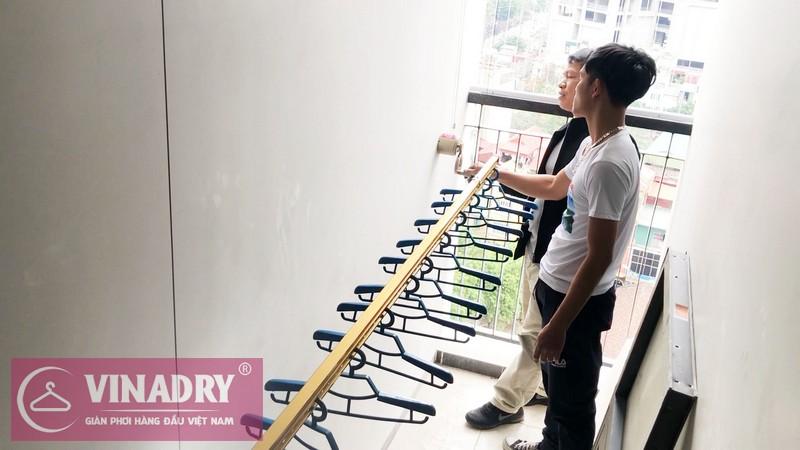 Vinadry GP191 RẺ mà CHẤT lắp tại nhà anh Mạnh, chung cư Goldsilk Complex, Hà Đông - 02
