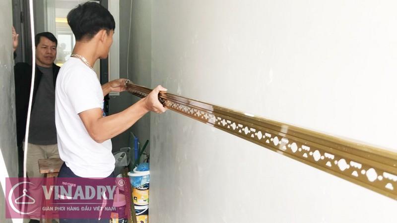 Vinadry GP191 RẺ mà CHẤT lắp tại nhà anh Mạnh, chung cư Goldsilk Complex, Hà Đông - 07