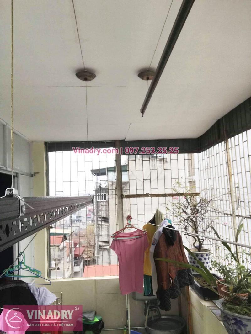 Lắp giàn phơi thông minh Đống Đa tại nhà chị Nga, phố Quốc Tử giám - 05