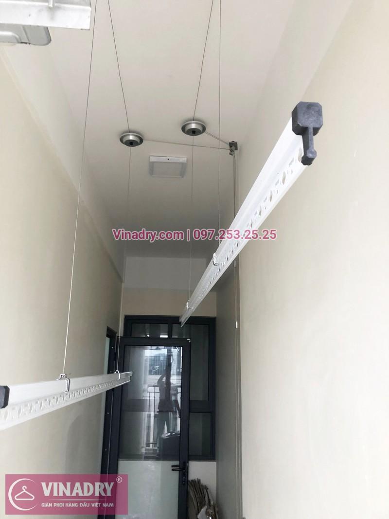 Lắp giàn phơi thông minh tại An Bình City nhà chị Thủy, căn 1007 tòa A4 - 01