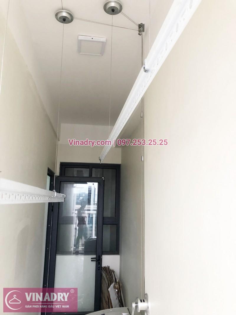 Lắp giàn phơi thông minh tại An Bình City nhà chị Thủy, căn 1007 tòa A4 - 03