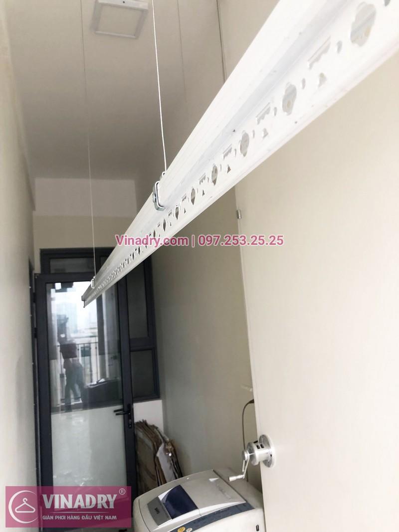 Lắp giàn phơi thông minh tại An Bình City nhà chị Thủy, căn 1007 tòa A4 - 05