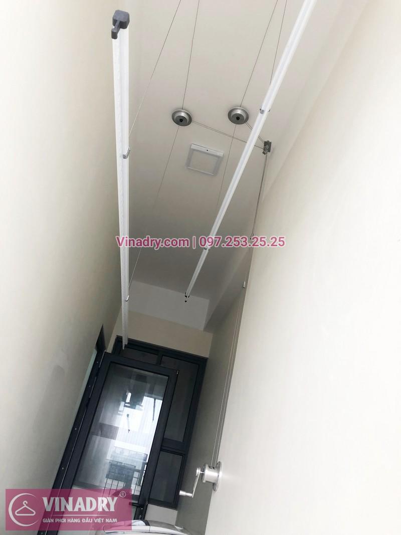 Lắp giàn phơi thông minh tại An Bình City nhà chị Thủy, căn 1007 tòa A4 - 07