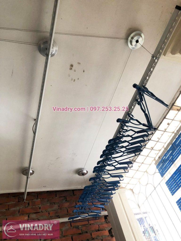 Lắp giàn phơi thông minh Vùn Tàu, nhà anh Tâm, hẻm 643 Bình Giã - 01