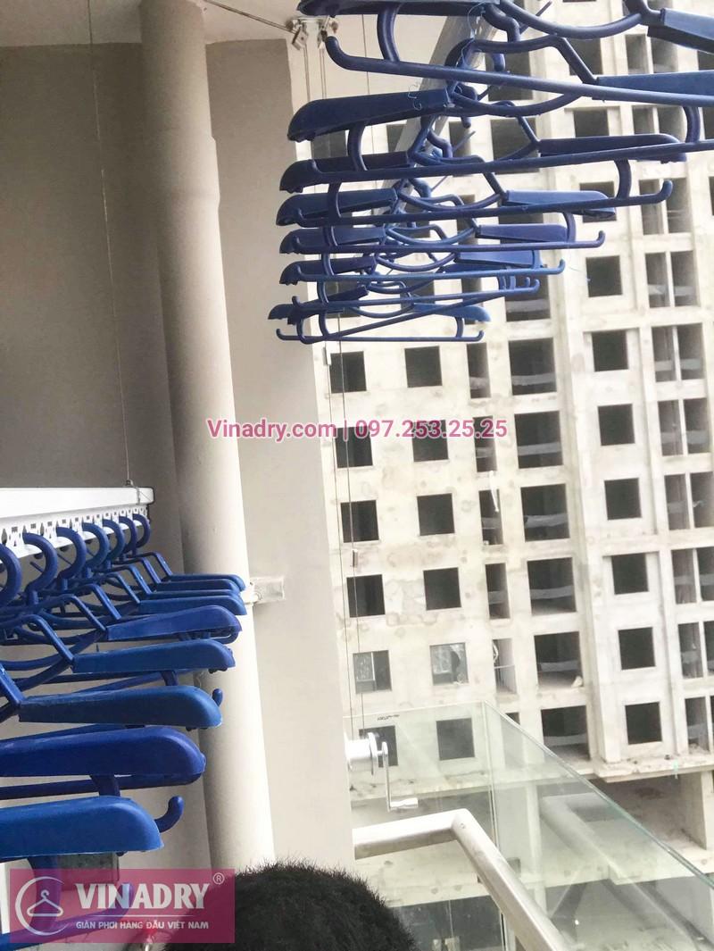 Lắp giàn phơi thông minh 701 tại chung cư 47 Nguyễn Tuân - 04