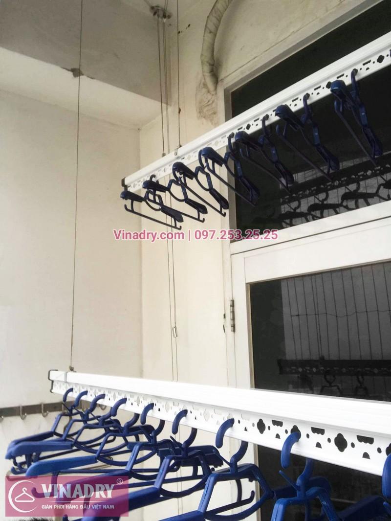 Lắp giàn phơi thông minh Hòa Phát Star tại chung cư Goldseason, 21 Đại Từ, Hoàng Mai, Hà Nội - 01