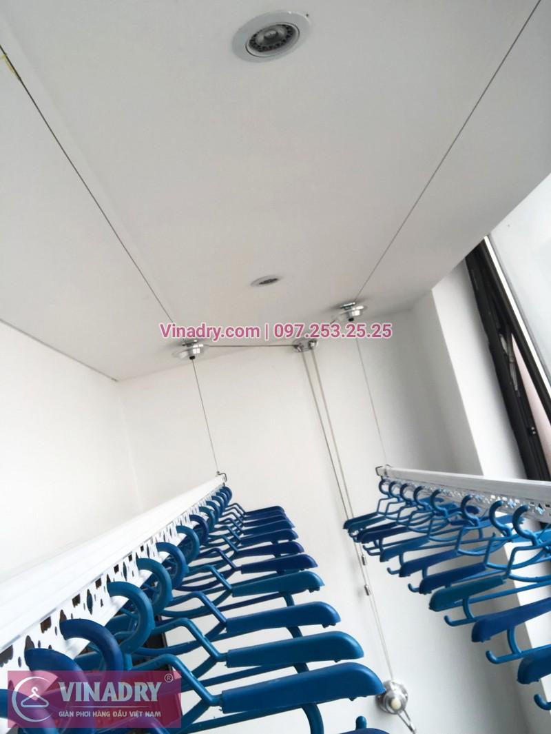 Lắp giàn phơi thông minh chung cư Sun Grand City Hoàng Hoa Thám nhà chị Quế, tòa S1 - 02