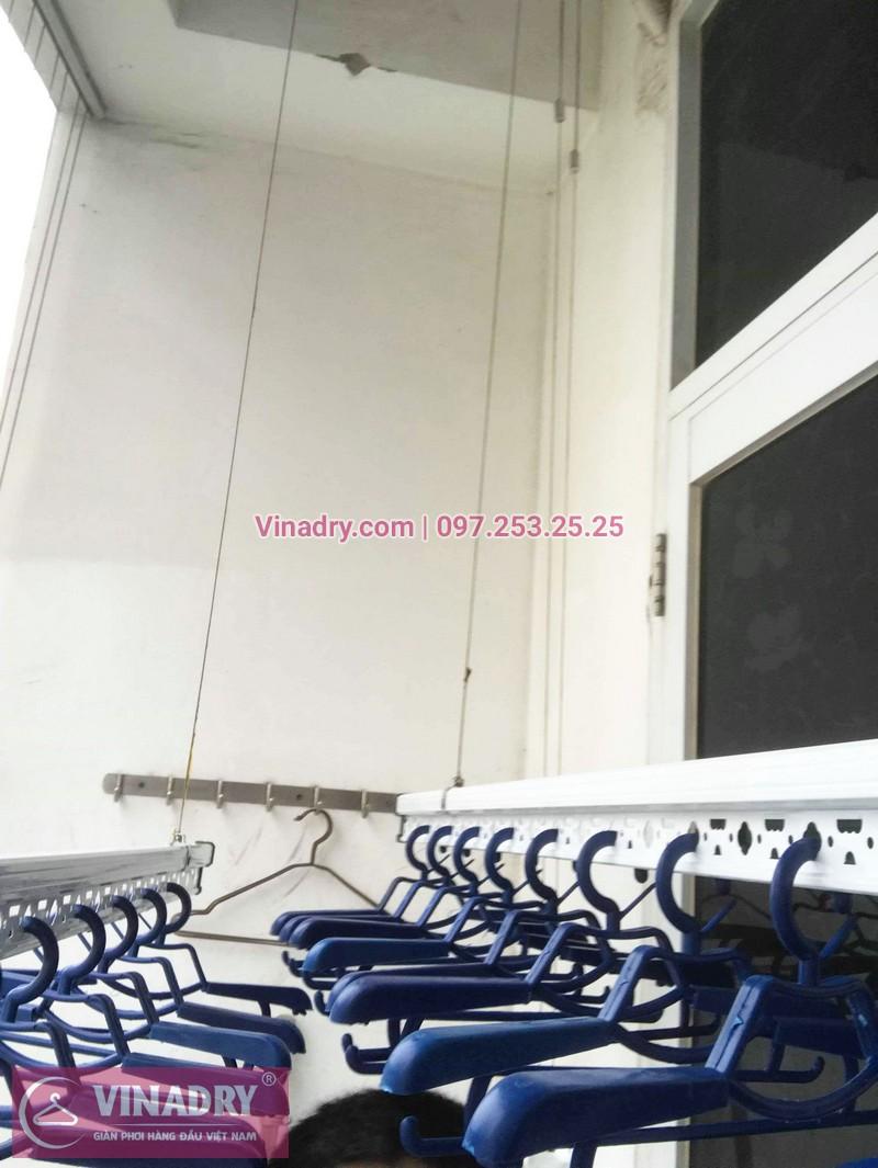 Lắp giàn phơi thông minh Hòa Phát Star tại chung cư Goldseason, 21 Đại Từ, Hoàng Mai, Hà Nội - 02
