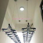 Lắp giàn phơi tại Hoàng Mai, nhà chị Nga, căn 11.11 tòa Smile Nguyễn Cảnh Dị