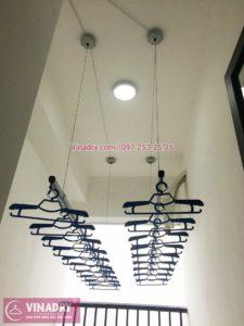 Lắp giàn phơi thông minh tại chung cư Smile Building Nguyễn Cảnh Dị, Hoàng Mai, Hà Nội - 02