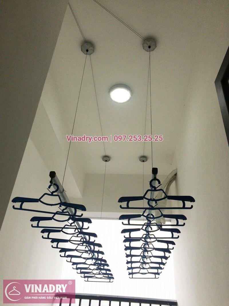 Lắp giàn phơi thông minh tại chung cư Smile Building Nguyễn Cảnh Dị, Hoàng Mai, Hà Nội - 01