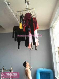 Lắp giàn phơi thông minh Sài Gòn nhà anh Thám, quận 7 - 02