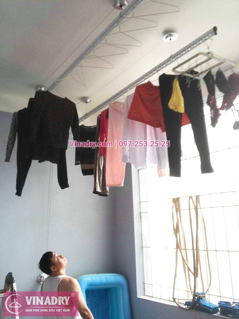 Lắp giàn phơi thông minh Sài Gòn nhà anh Thám, quận 7 - 06