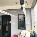 Hình ảnh giàn phơi hp701 lắp tại ngõ 15 An Dương Vương, Tây Hồ, Hà Nội