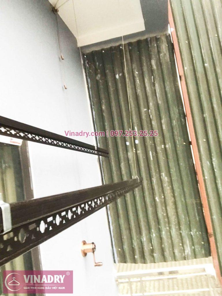 Lắp giàn phơi thông minh Vinadry nhà chị Hiền, Làng Bằng B, Hoàng Mai, Hà Nội - 03
