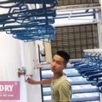 Giàn phơi Vinadry GP902 xịn sò lắp tại Vinhomes Green Bay Mễ Trì, nhà anh Đào