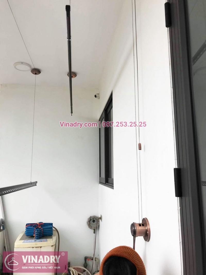 Lắp giàn phơi GP903 tại nhà cô Huệ, Đông Anh, Hà Nội - 03