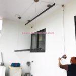 Lắp giàn phơi cao cấp Vinadry tại nhà cô Huệ, Đông Anh, Hà Nội