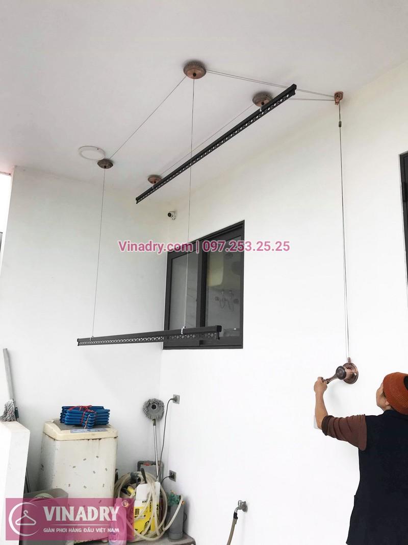 Lắp giàn phơi GP903 tại nhà cô Huệ, Đông Anh, Hà Nội - 05