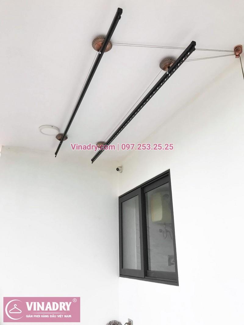 Lắp giàn phơi GP903 tại nhà cô Huệ, Đông Anh, Hà Nội - 06
