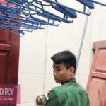 Lắp giàn phơi Vinadry GP941 tại Số 9/47/264 Ngọc Thụy, Long Biên nhà anh Toàn