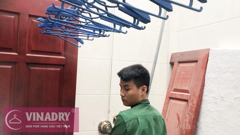 Lắp giàn phơi Vinadry GP941 tại Số 9/47/264 Ngọc Thụy, Long Biên nhà anh Toàn - 05