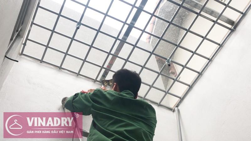 Lắp giàn phơi Vinadry GP941 tại Số 9/47/264 Ngọc Thụy, Long Biên nhà anh Toàn - 01