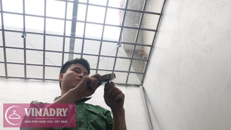 Lắp giàn phơi Vinadry GP941 tại Số 9/47/264 Ngọc Thụy, Long Biên nhà anh Toàn - 02