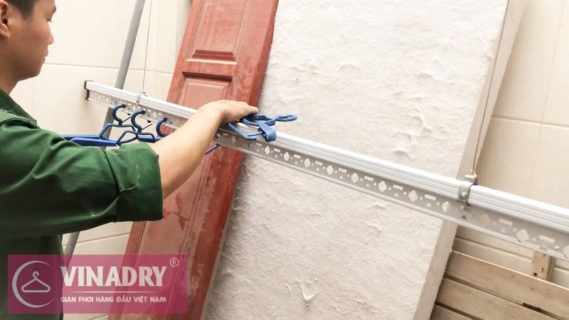 Lắp giàn phơi Vinadry GP941 tại Số 9/47/264 Ngọc Thụy, Long Biên nhà anh Toàn - 04
