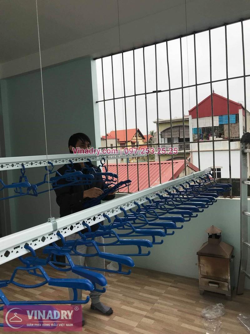 Lắp giàn phơi thông minh quận Hai Bà Trưng, ngõ 325 Kim Ngưu nhà anh Hải - 04