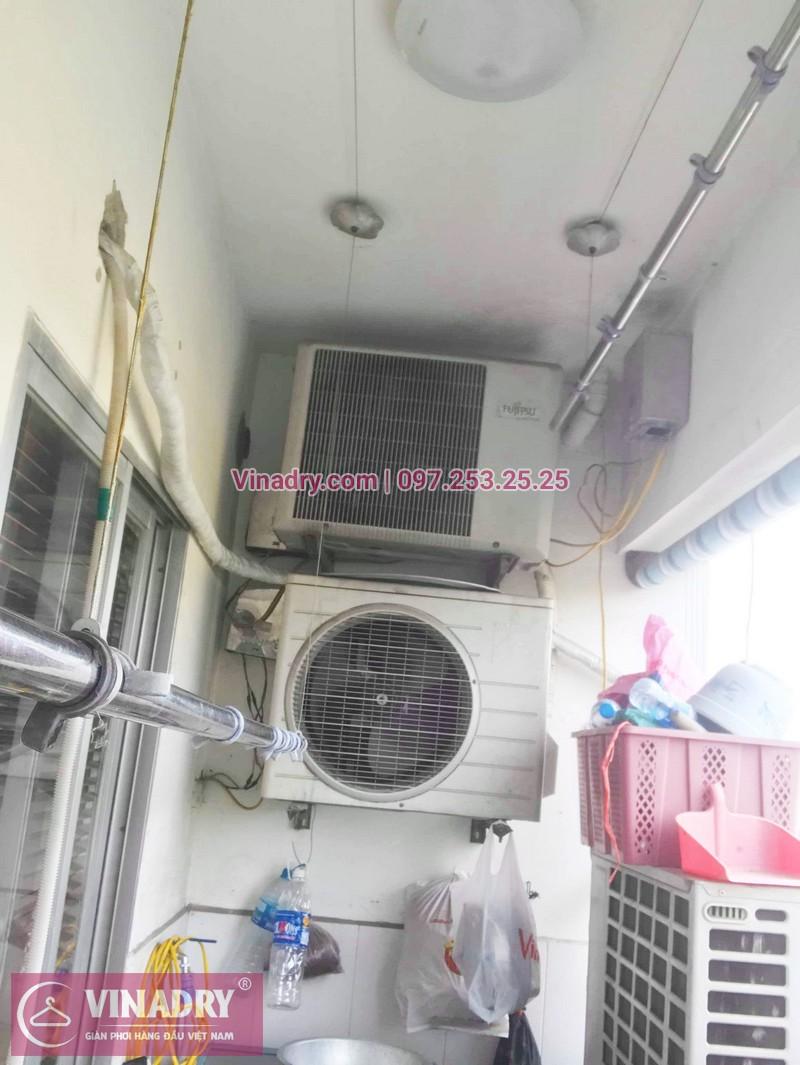 Sửa chữa giàn phơi tại chung cư HH2 Linh Đàm nhà chị Mến - 04