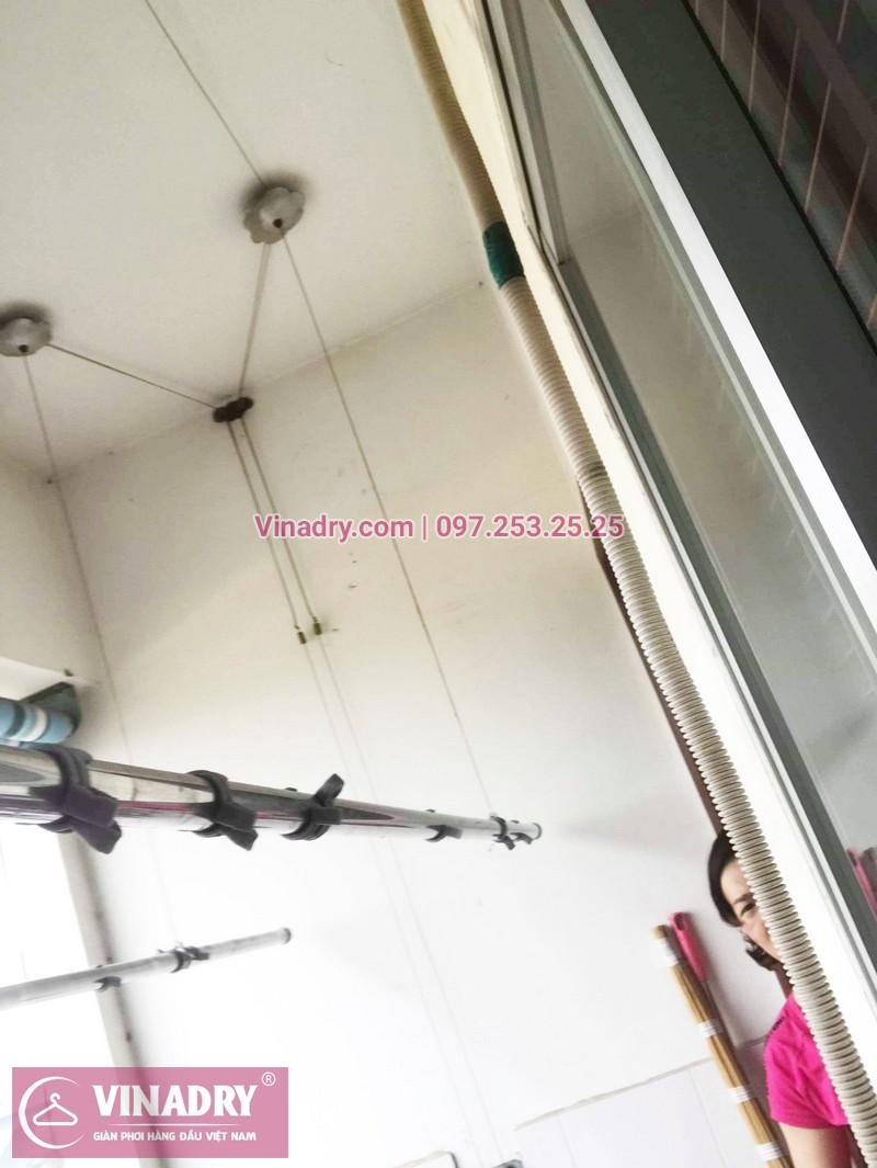 Sửa chữa giàn phơi tại chung cư HH2 Linh Đàm nhà chị Mến - 03