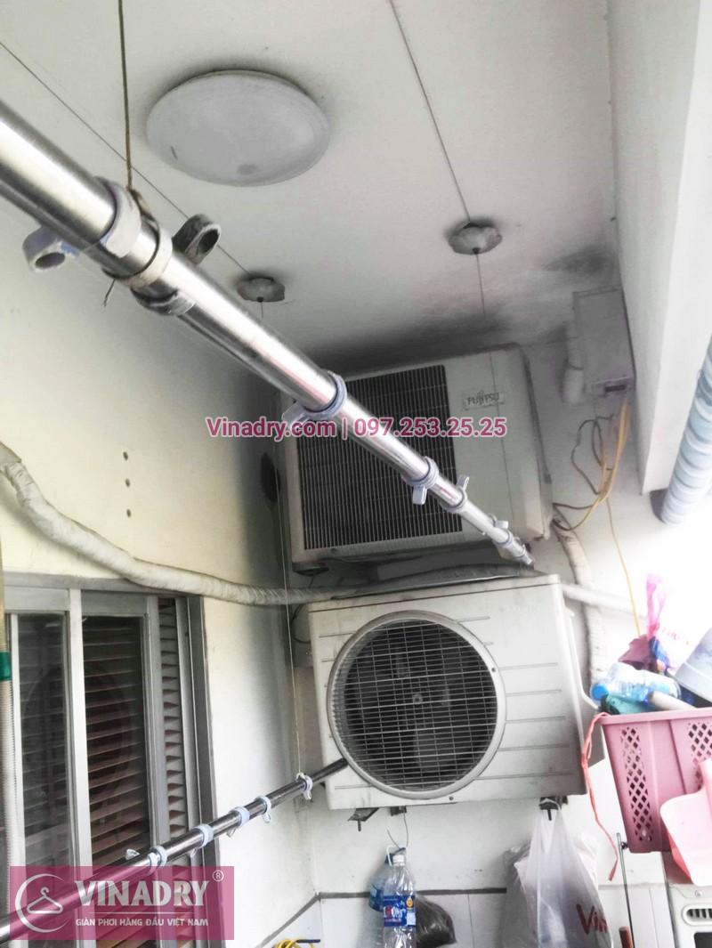 Sửa chữa giàn phơi tại chung cư HH2 Linh Đàm nhà chị Mến - 02