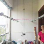 Sửa chữa giàn phơi tại chung cư HH2 Linh Đàm nhà chị Mến