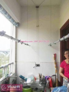 Sửa chữa giàn phơi tại chung cư HH2 Linh Đàm nhà chị Mến - 01