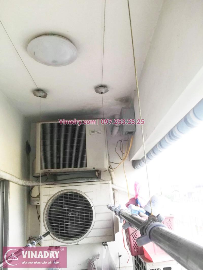 Sửa chữa giàn phơi tại chung cư HH2 Linh Đàm nhà chị Mến - 06