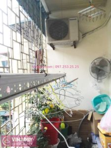 Sửa chữa giàn phơi nhà chị Hân, phố Vĩnh Phúc, Ba Đình, Hà Nội - 01