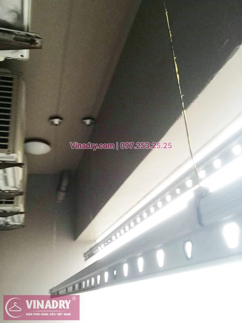 Sửa giàn phơi thông minh, thay củ quay giàn phơi giá rẻ nhà anh Toán, tòa HH1, Meco Complex, 102 Trường Trinh - 02