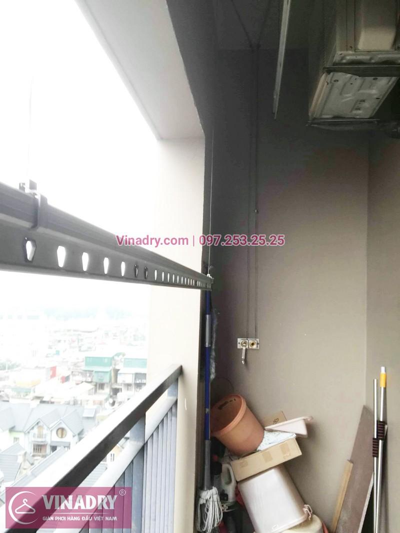 Sửa giàn phơi thông minh, thay củ quay giàn phơi giá rẻ nhà anh Toán, tòa HH1, Meco Complex, 102 Trường Trinh - 04