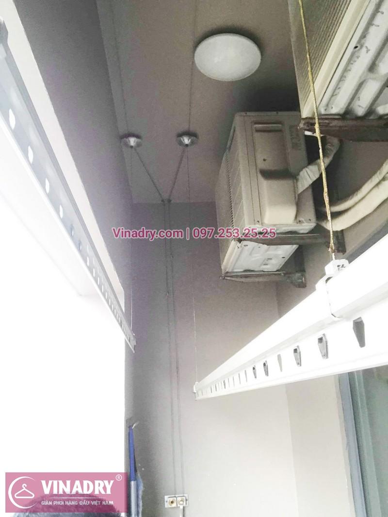 Sửa giàn phơi thông minh, thay củ quay giàn phơi giá rẻ nhà anh Toán, tòa HH1, Meco Complex, 102 Trường Trinh - 05