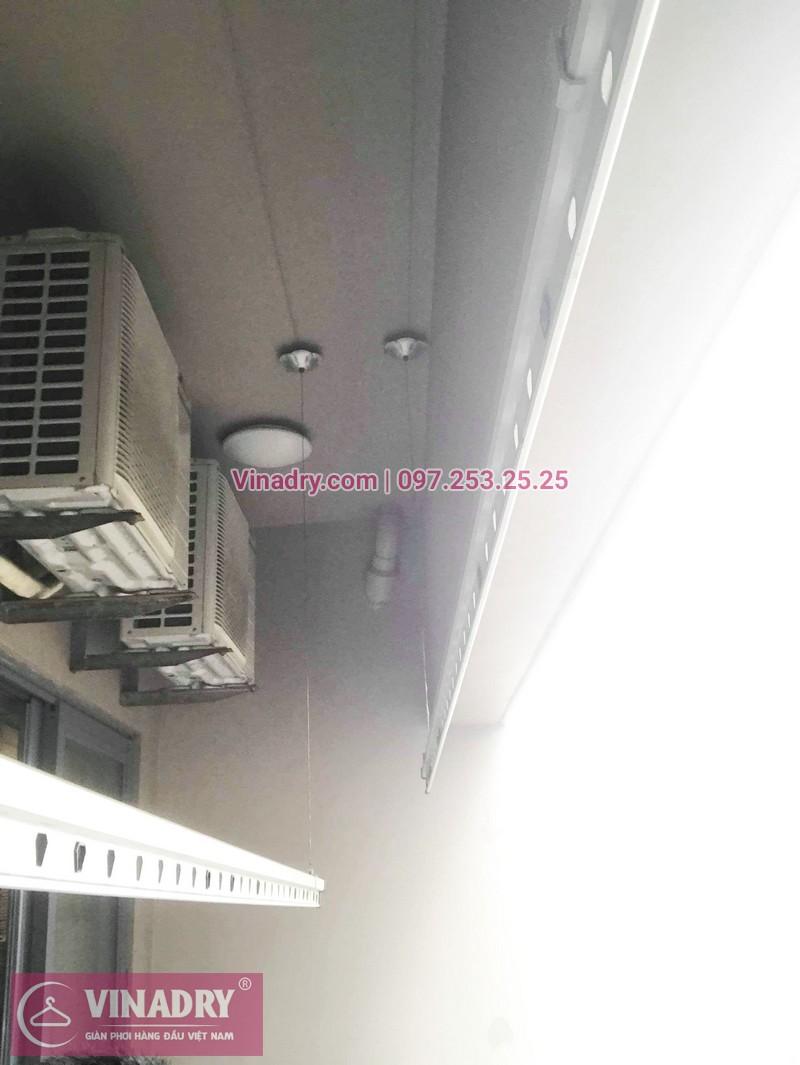 Sửa giàn phơi thông minh, thay củ quay giàn phơi giá rẻ nhà anh Toán, tòa HH1, Meco Complex, 102 Trường Trinh - 07