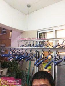 Sửa giàn phơi tại Hoàn Kiếm nhà chị Ngọc, ngõ 48 Lê Văn lương - 06