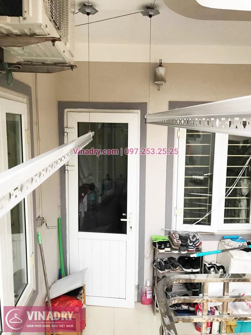 Ảnh giàn phơi thông minh 999B Vinadry lắp tại nhà chị Hậu, ngõ 290 Kim Mã - 07