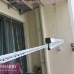 Lắp 2 bộ giàn phơi HP701 tại chung cư Tây Hà Tower, Nam Từ Liêm, Hà Nội