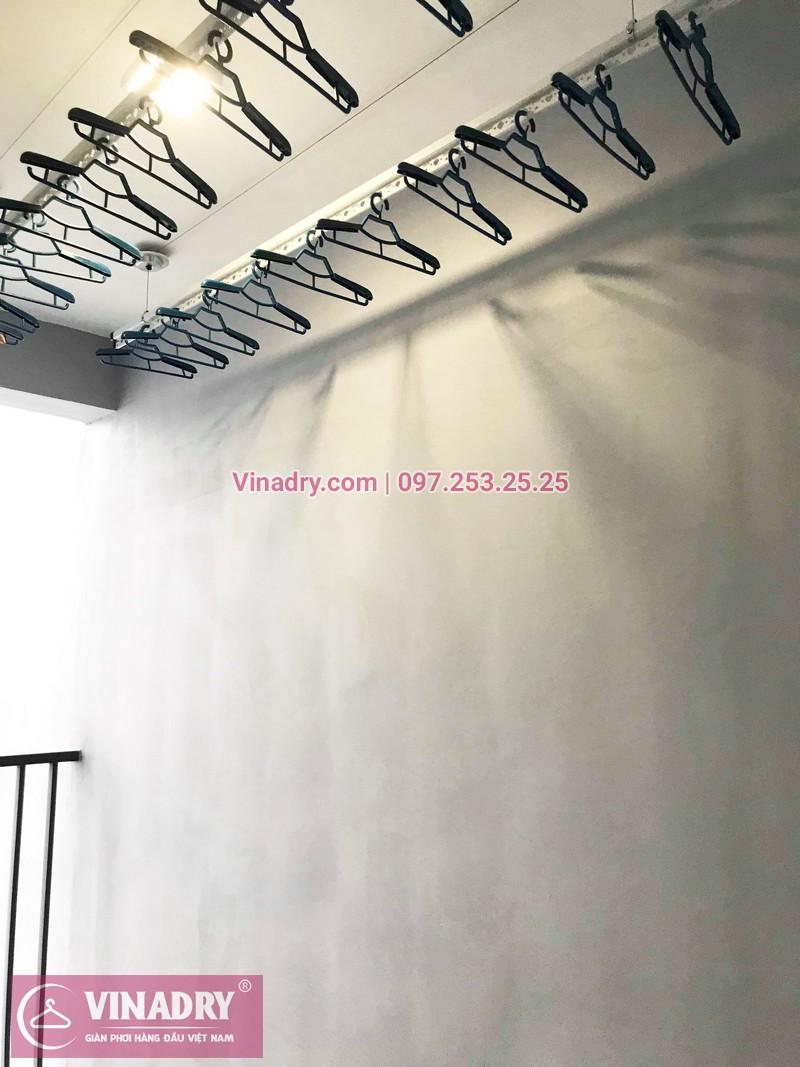 Lắp giàn phơi thông minh giá rẻ tại KĐT Gamuda nhà chị Yến, Tòa The one - 01