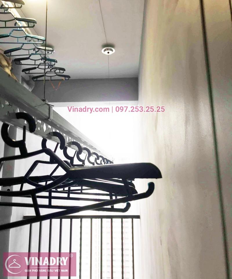 Lắp giàn phơi thông minh giá rẻ tại KĐT Gamuda nhà chị Yến, Tòa The one - 03