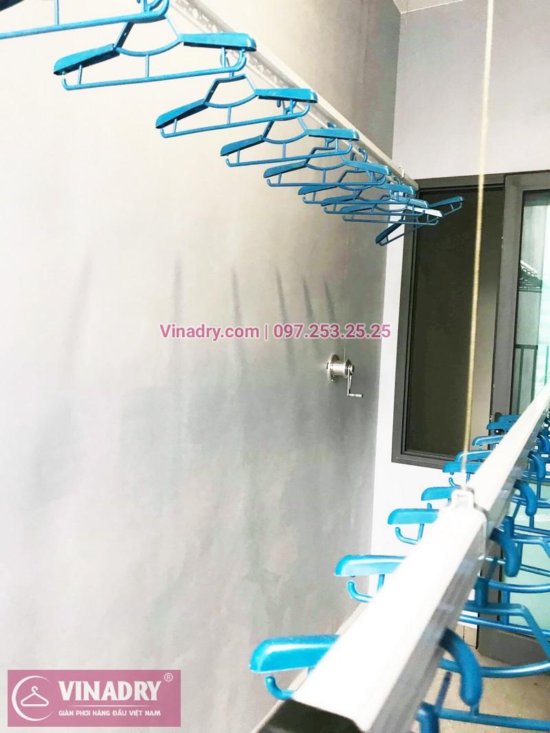 Lắp giàn phơi thông minh giá rẻ tại KĐT Gamuda nhà chị Yến, Tòa The one - 04