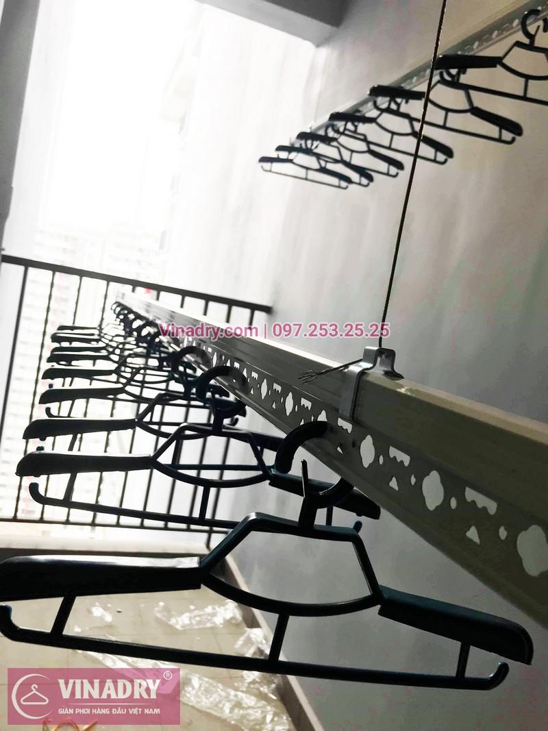 Lắp giàn phơi thông minh giá rẻ tại KĐT Gamuda nhà chị Yến, Tòa The one - 05