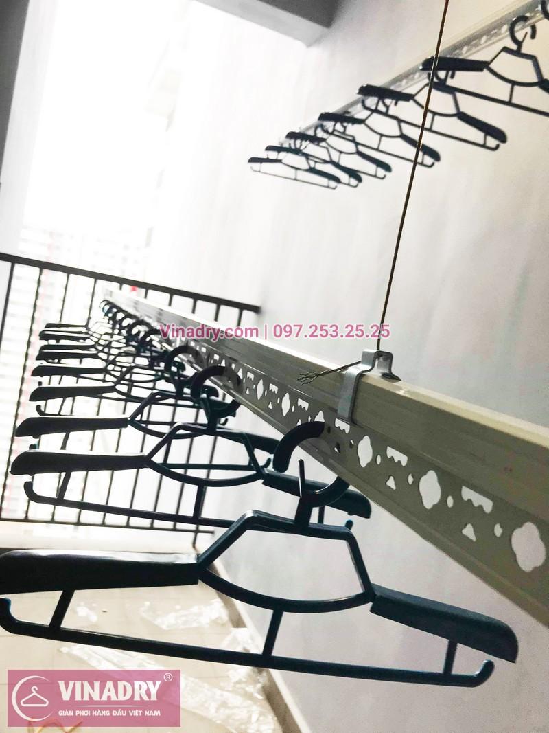 Lắp giàn phơi thông minh giá rẻ tại KĐT Gamuda nhà chị Yến, Tòa The one - 06